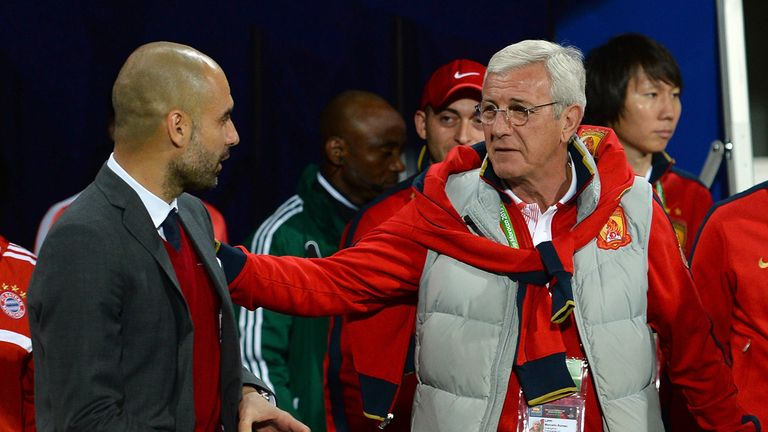 Marcelo Lippi (r): Extends his stay at Guangzhou