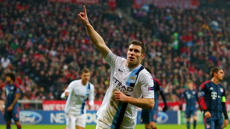 James Milner: Thrilled with Man City's display after fighting back to beat Man City