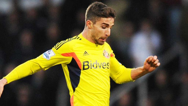 Fabio Borini: Sunderland striker played in the first half at Cardiff