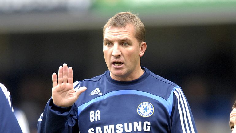 Brendan Rodgers in his Chelsea days