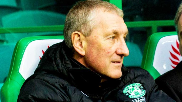 Terry Butcher: Hibernian boss hopes to lift confidence among his strikers