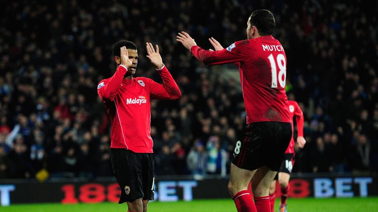Fraizer Campbell and Jordon Mutch gave Cardiff the lead