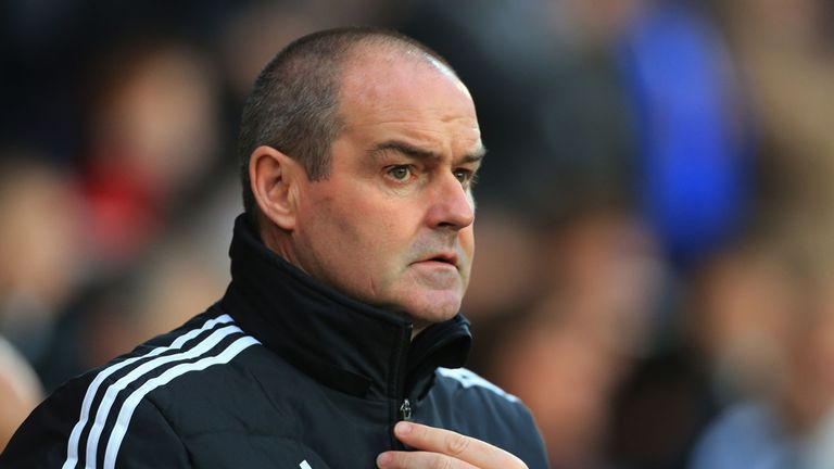 Steve Clarke: Replaced Roy Hodgson at West Brom in 2012