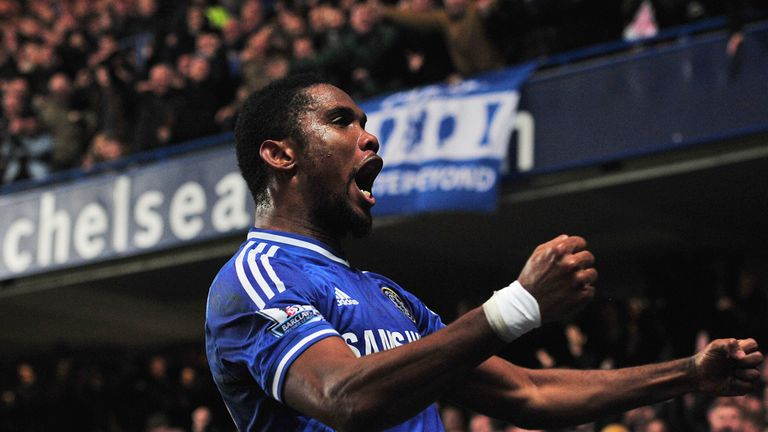 Samuel Eto'o: Scored winner against Liverpool