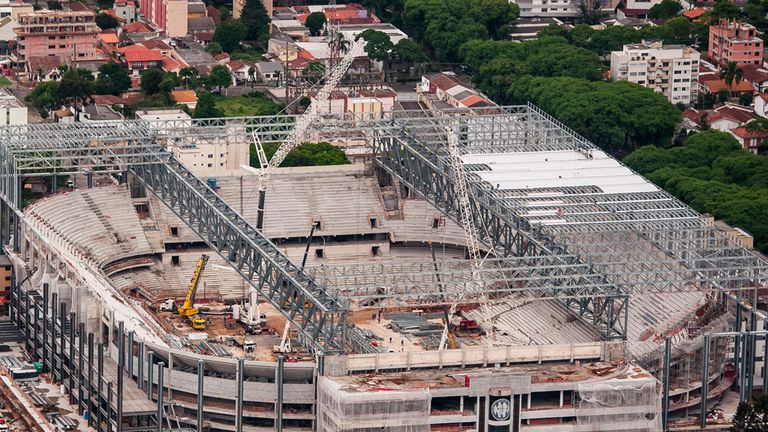 Curitiba: Not expected to be ready until February