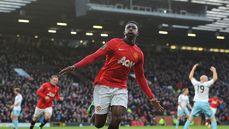 Danny Welbeck: Has impressed for United at the perfect time
