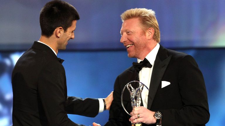 Boris Becker: Has been named as Novak Djokovic's coach
