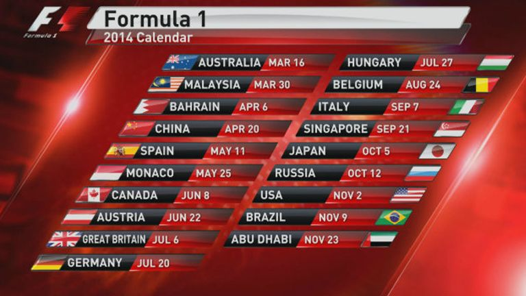 new car launches in january 2014F1 in 2014 The driver lineups car launches and test  race