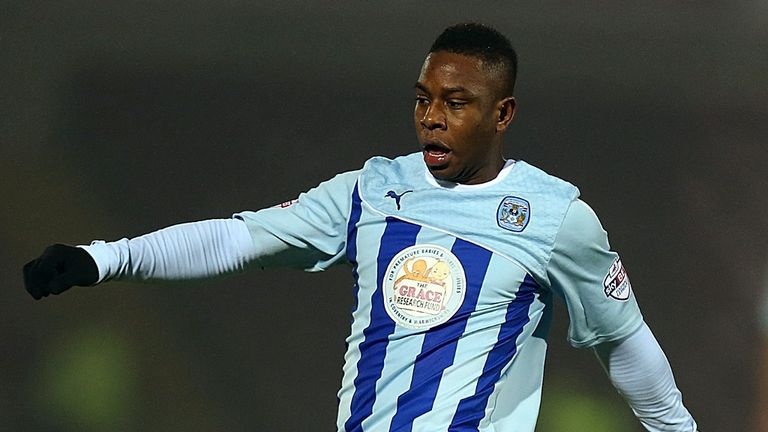 Franck Moussa: Scored Coventry's second goal