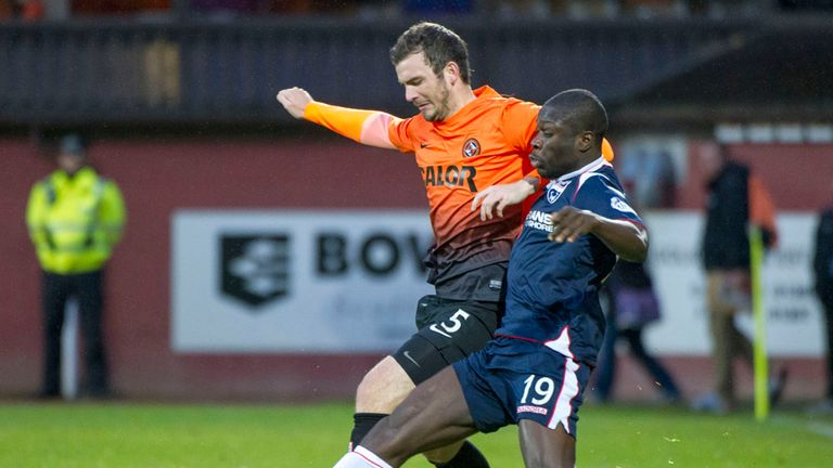 Dundee United made to battle by Ross County at Tannadice