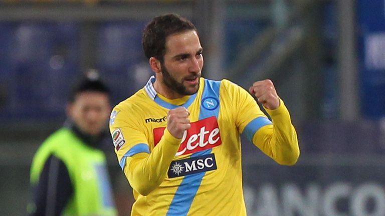 Gonzalo Higuain: Happy at Napoli