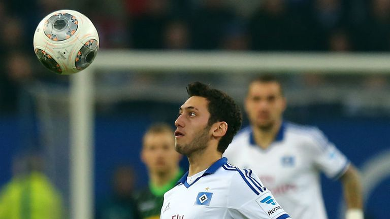 Hakan Calhanoglu: Wanted by Galatasaray boss Roberto Mancini