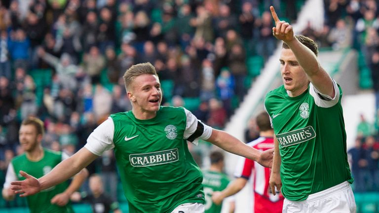 Paul Hanlon: Opened the scoring for Hibernian