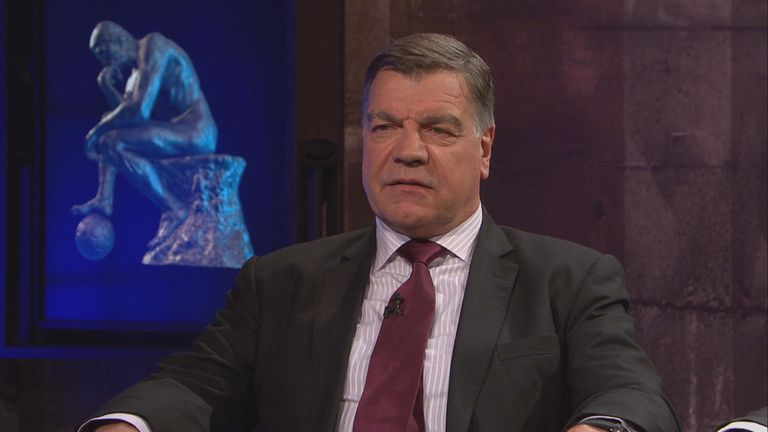 Stats man: Allardyce says data has helped him manage