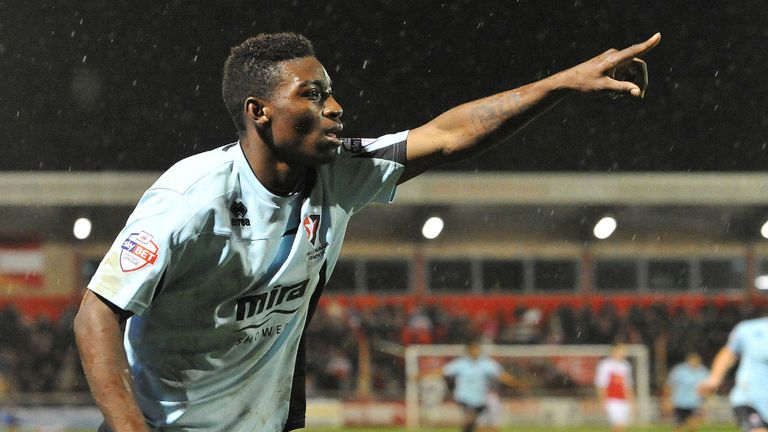 Jermaine McGlashan: Wrapped up the win in injury time