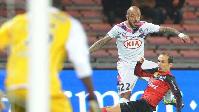 Julien Faubert fires in Bordeaux's winner