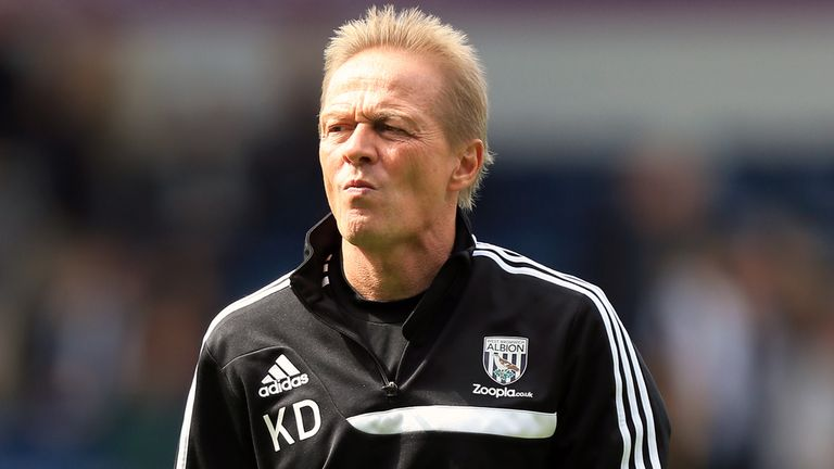 Keith Downing: Happy to remain in charge of West Brom during the Christmas period