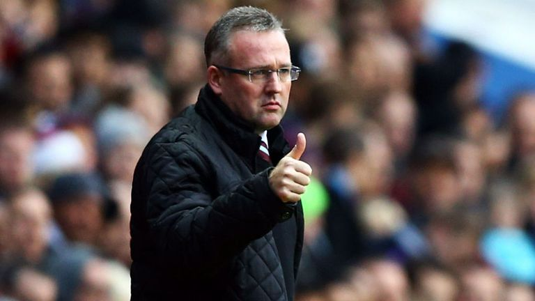 Paul Lambert: Delighted with his young charges