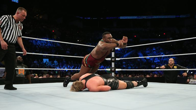 Langston: had his eyes fixed on Reigns at the end of Smackdown