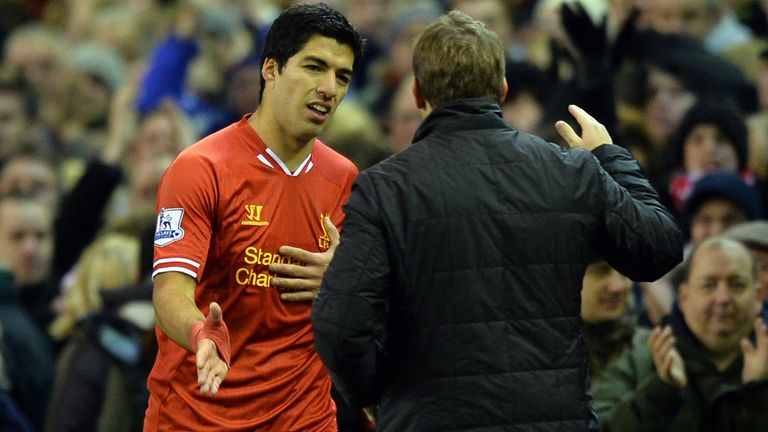 Brendan Rodgers: Delighted with Luis Suarez