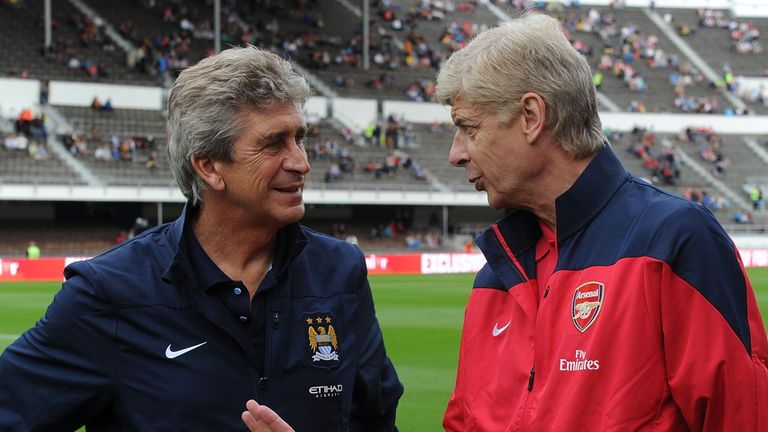Arsene Wenger: Arsenal up against Manuel Pellegrini's Manchester City on Saturday