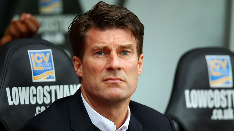 Michael Laudrup was left waiting for his team in Switzerland