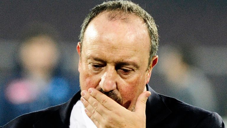 Rafa Benitez: Proud of his Napoli players
