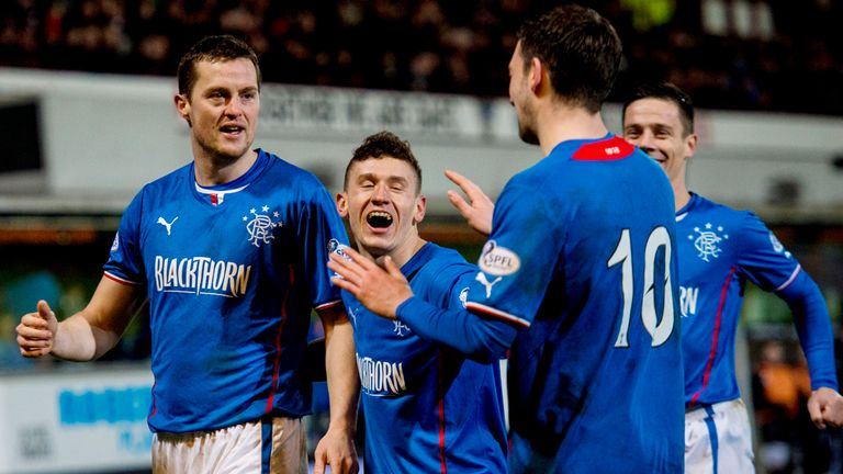 Nicky Law: On the scoresheet for Rangers at East End Park