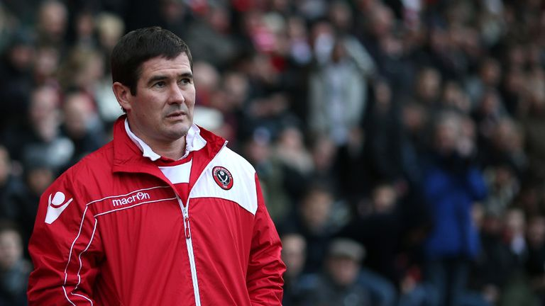 Nigel Clough: Sheffield United boss has seen his side claim two Premier League scalps this season