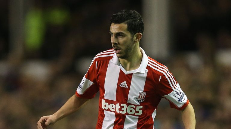Oussama Assaidi: Set for talks over permanent move to Stoke