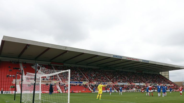 The County Ground: Home to the Robins
