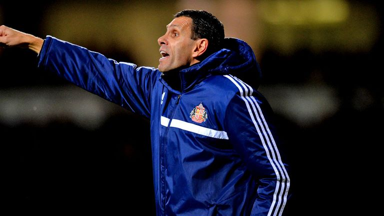 Gus Poyet: Sunderland boss is happy with cup success