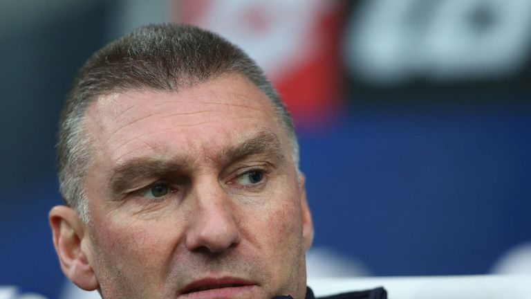 Nigel Pearson: Saw his side win