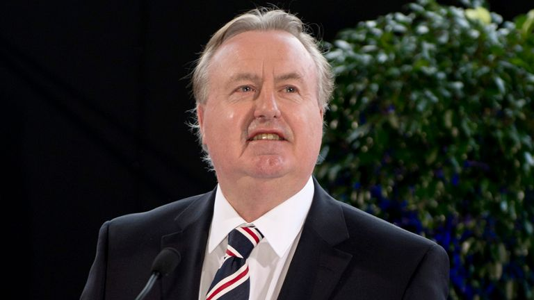 David Somers: Rangers chairman