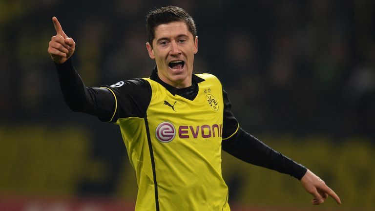 Robert Lewandowski: Striker has signed a five-year deal with Bayern Munich