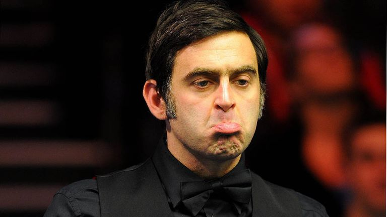 Ronnie O'Sullivan: Knocked out in the quarter-finals by Stuart Bingham