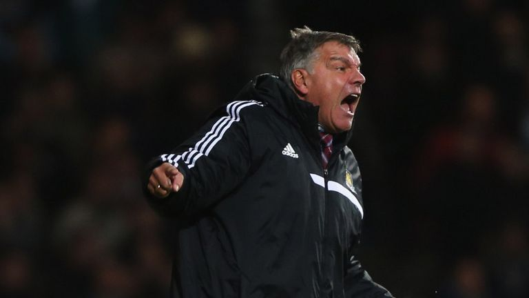 Sam Allardyce: West Ham travel to Tottenham for a cup tie on Wednesday