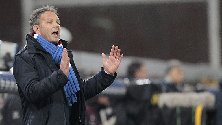 Sinisa Mihajlovic: Extends his Sampdoria stay