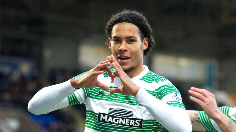 Virgil van Dijk: Loving life at Celtic