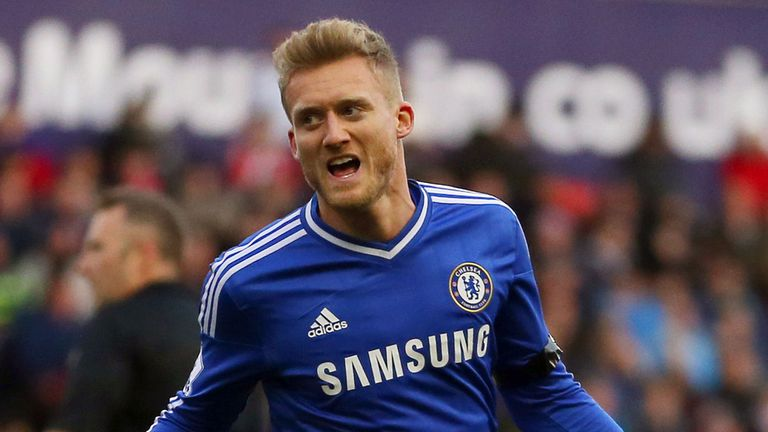 Andre Schurrle: Chelsea man is expecting a tense title race