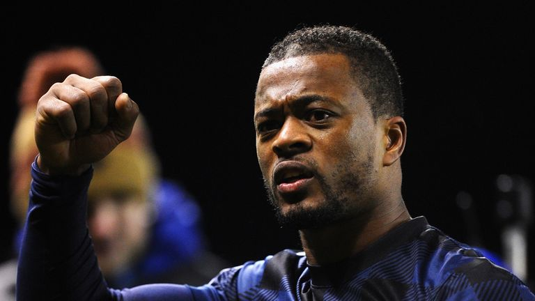 Patrice Evra: Says title talk is too early