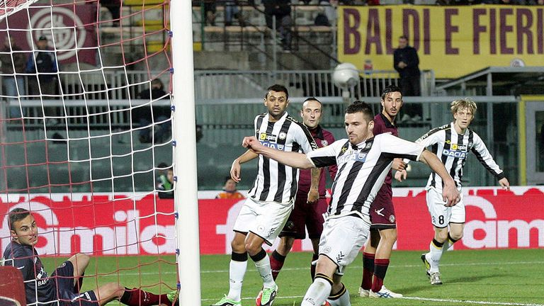 Thomas Heurtaux scored for Udinese
