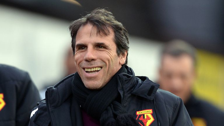 Gianfranco Zola: Not in line to take charge of Leeds