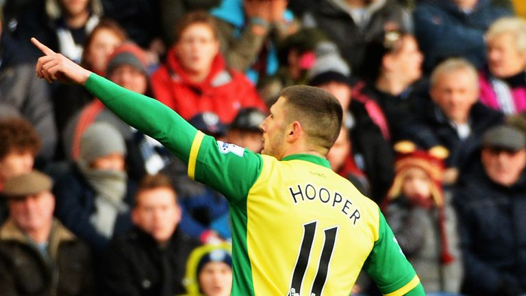 Gary Hooper: Confident that Norwich are moving in the right direction