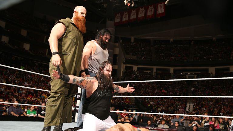 The Wyatt Family welcomed Daniel Bryan on Raw