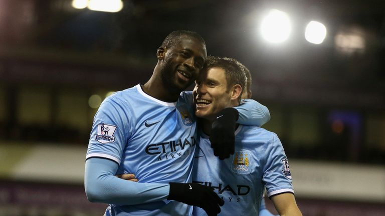 Yaya Toure (left): Collected the most bonus points so far this season