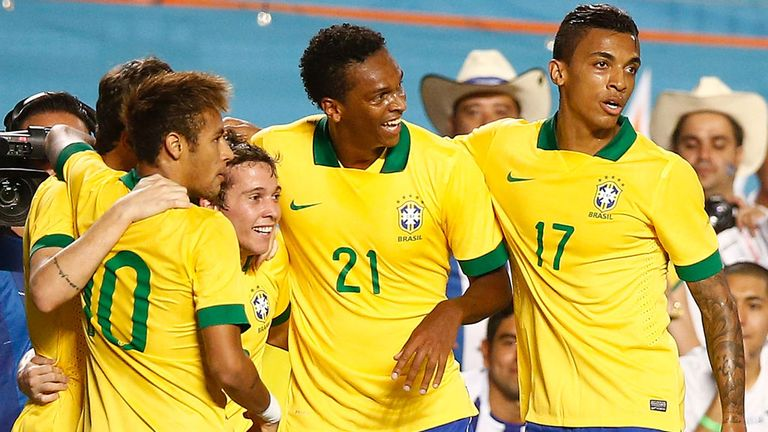 Brazil: Will kick off next summer's World Cup against Croatia