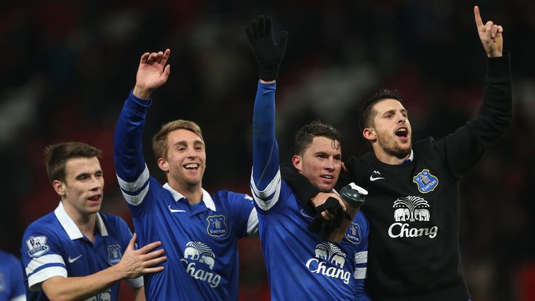 Bryan Oviedo: Helped Everton to stun Manchester United at Old Trafford