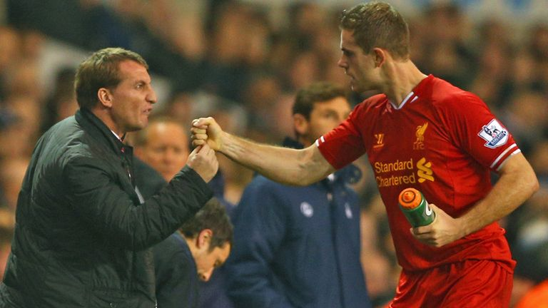 Brendan Rodgers: Has tipped Jordan Henderson to star for England