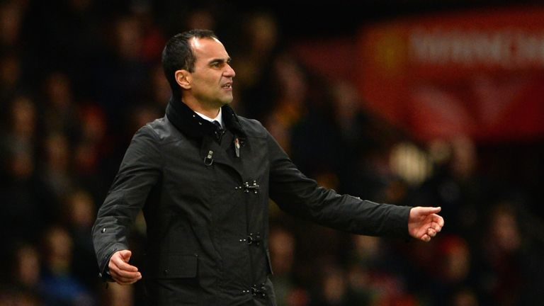 Roberto Martinez: Everton boss guided his side to victory over Manchester United at Old Trafford